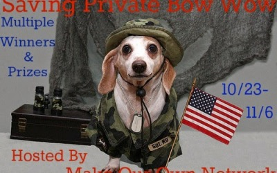 Bloggers wanted for the Saving Private Bow Wow giveaway event! #BlogOpp (Sign-Ups Close Oct 20)