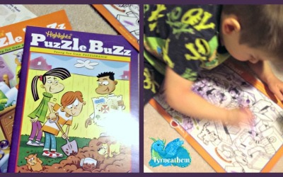 {Holiday Gift Guide Review} Highlights Puzzle Buzz Books