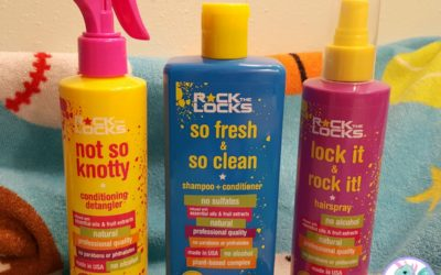 Rock the Locks Kids' Hair Care Products Review