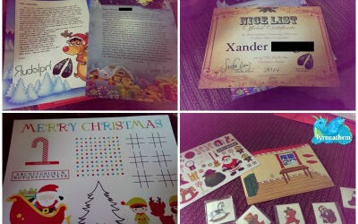 A #HolidayGiftGuide #review! Santa Will Write your child & it will bring a smile to their face!