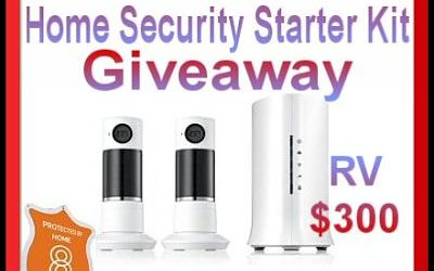 Home8 Twist HD Security Camera Starter Kit Giveaway ⚬ Congrats Dotty!
