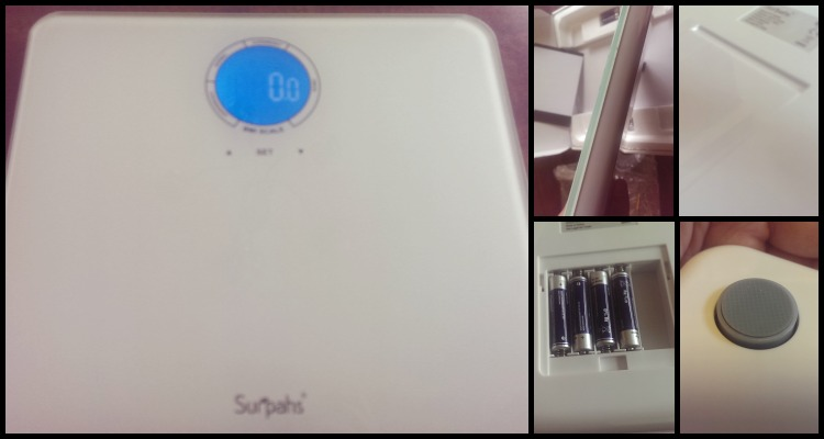 {Review} Surpahs' Shiny Small Lightweight Digital Bathroom Scale