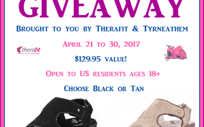 Therafit Cassandra Women's Wedge Sandals Giveaway (Congrats, Cheryl!)