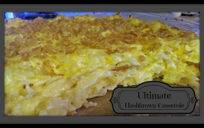 {Recipe} Ultimate Hashbrown Casserole