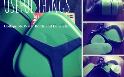 {Review} Useful Things' Collapsible Water Bottle & Lunch Kit
