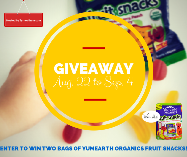 {Back to School Review} YumEarth Fruit Snacks