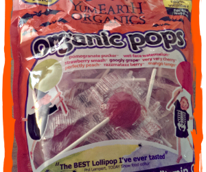 {Halloween Review} YumEarth Organics Lollipops